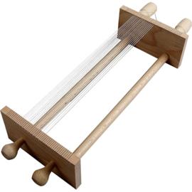 Degelijke houten weefraam voor het weven van armbandjes met kralen (kies voor pakketpost)
