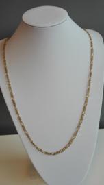 Per stuk metalen ketting goud Ca. 1meter lang zonder sluiting