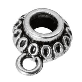 2x Bails met oog binnenmaat 3.3 mm Antiek Zilver