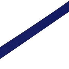 20 cm Basic quality leer plat 5mm Donker blauw