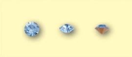 Doosje met 12 stuks Jewelry Stones (M.C. Chaton) 3,8-4mm Light Saphire SS16