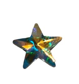 2x Precosia punt Kristal Ster AB 10 mm