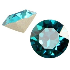 2 x Swarovski Elements SS24 puntsteen (5.2mm) Blue zircon