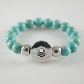 Armband turquoise voor 1 click
