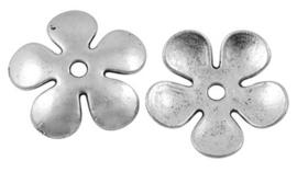 10 x Prachtig mooie Tibetaans zilveren kralenkap 21 x 1,5mm gat: 2,5mm