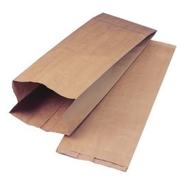 10 x Papieren kraft zak 14 x 25,5 cm bruin nr. 1