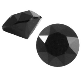 2 x Swarovski Elements PP32 puntsteen (4.0mm) Jet black