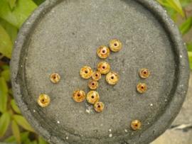 15 stuks kralen mix 7mm en 5 mm
