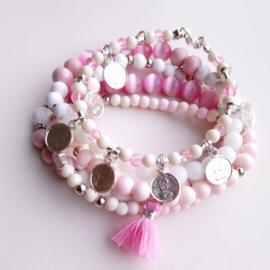 """Armbandenset """"Pink"""" ♥"""