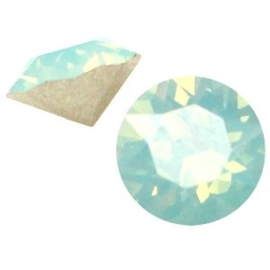 2 x Swarovski Elements SS24 puntsteen (5.2mm) Pacific opal