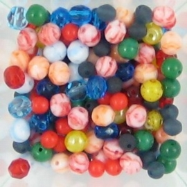 Candy glaskraal mix 5~6mm  assortiment