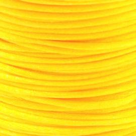 2 meter Macrame Satijndraad 1.0 Sunshine Yellow