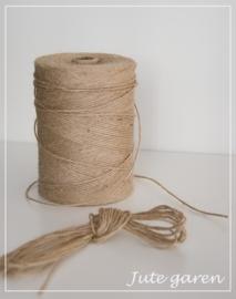 10 meter mooie hennep touw, jutetouw, inpaktouw, jutegaren, decoratietouw 1mm dik