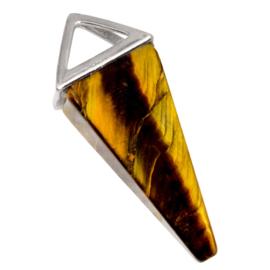 Natuursteen Hanger (37 x 15 mm) Tiger Eye (1 Stuks)