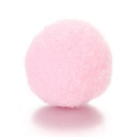 Parfum sponsje 13mm licht roze