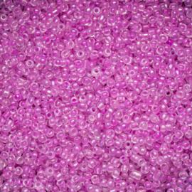 20 gram rocailles 12/0 2mm  roze