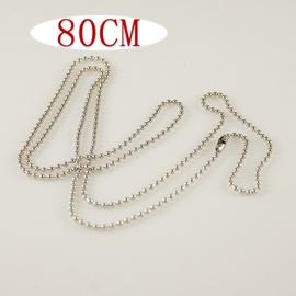 Ketting 80 cm (ball chain)