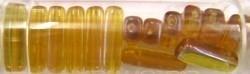 Gutermann cylinderparels15mm bruin AB 15st