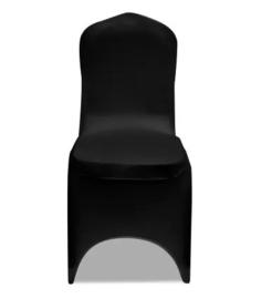 1 x stoelhoes stetch zwart universeel