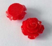 Plakroosje plakvlak 16 mm rood