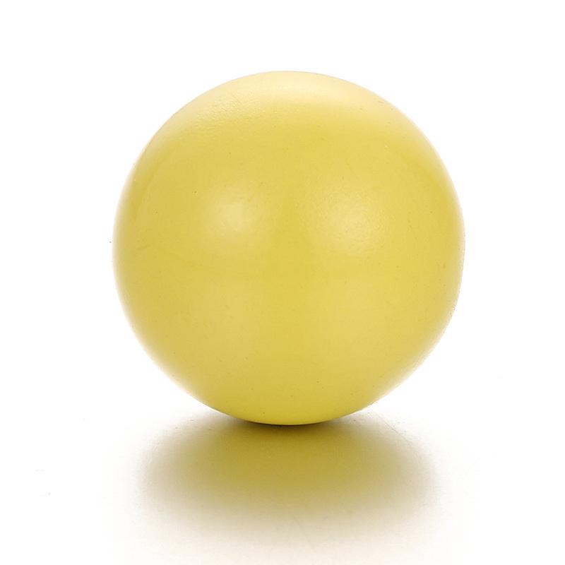 Klankbolletje 16mm voor een Engelenroeper geel