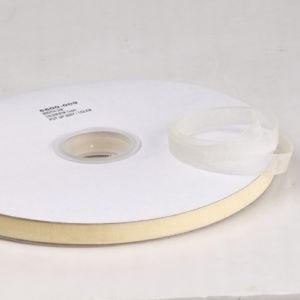 1 meter Organza lint 10mm breed per meter, leuk voor zeepkettingen!! creme