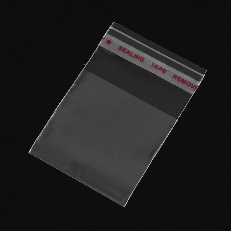 200 stuks cellofaan zakjes  4 x 6cm dik: 0.035mm