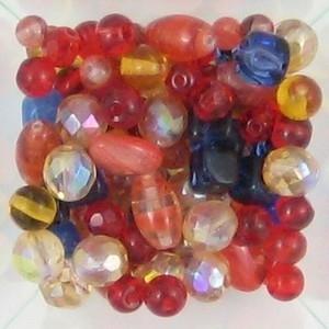 50 gram  Rich glaskralen