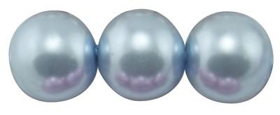 10 x prachtige glasparel kleur: Light Blue 14mm