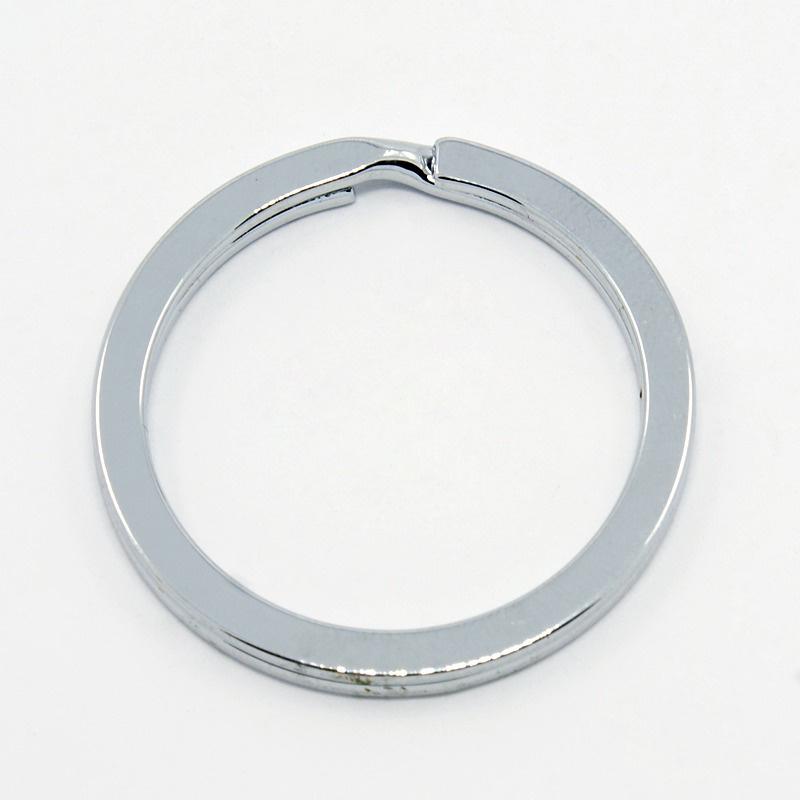 2 x  Sleutelhanger ring 30 x 2mm