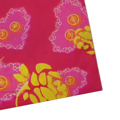 85 stuks plastic zakjes 12 x 19cm, u krijgt een willekeurige kleur/motief