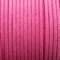 10 meter waxkoord 1,5mm dik kleur: roze