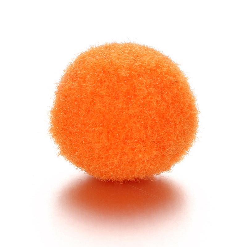 Parfum sponsje 13mm oranje