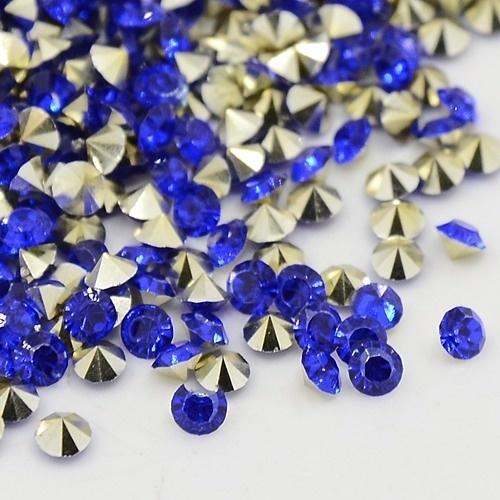 10 stuks Puntsteen Preciosa voor puntsteen 9924 c.a. 3,5mm Royal Blue