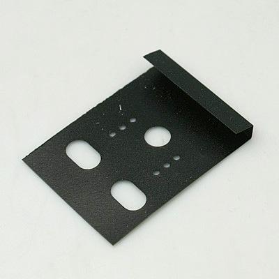 50 plastic kaartjes voor oorbellen  30 x 40mm zwart