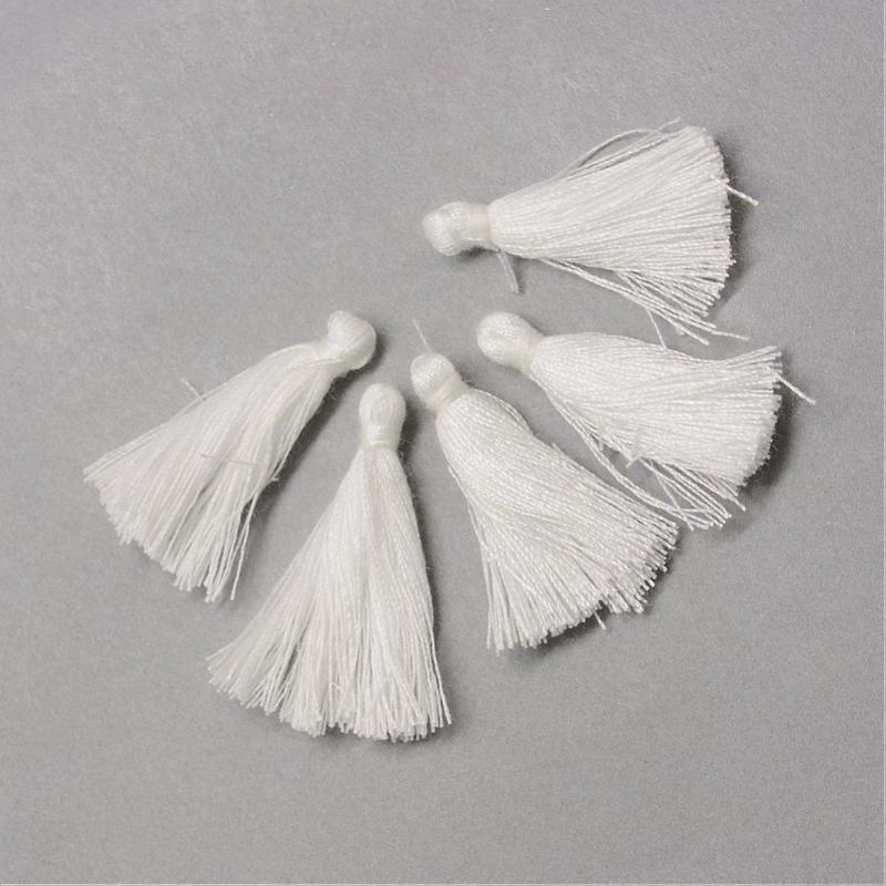 3 x Kwastje White