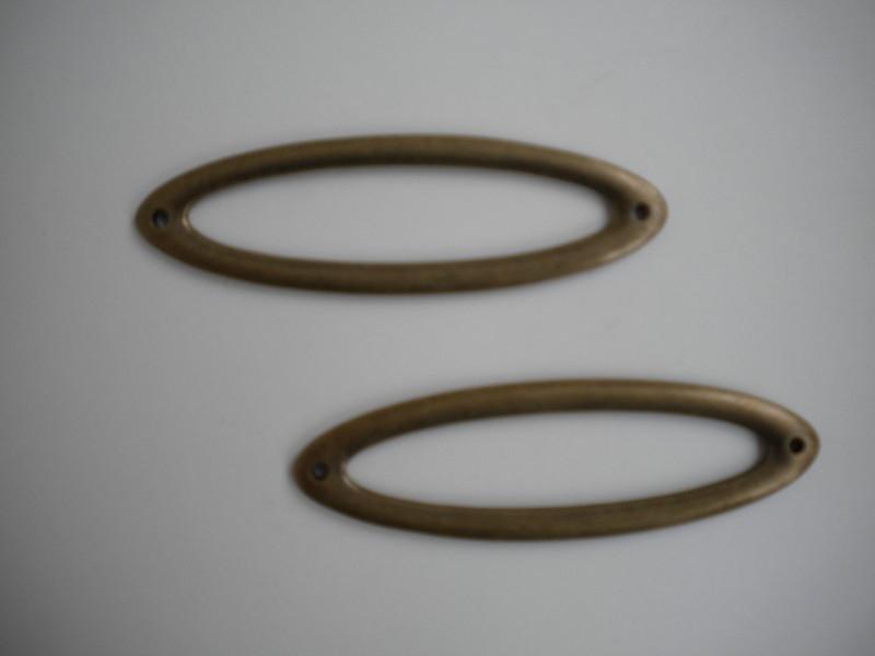 Metalen tussenzetsel 70mm per stuk