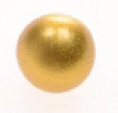 Klankbolletje 20mm voor een Engelenroeper goud
