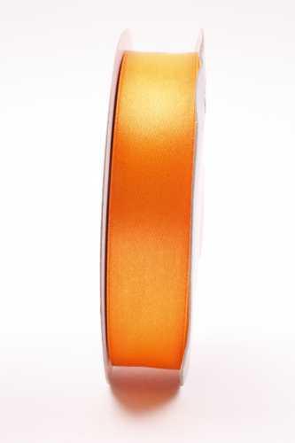 1 meter Luxe satijnlint 25 mm oranje
