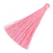 Kwastje 6.5cm Pink per stuk