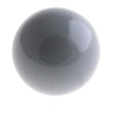 Klankbolletje 20mm voor een Engelenroeper Grijs
