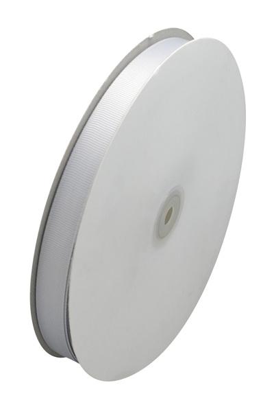 1 meter grijs geribbeld lint 10mm breed