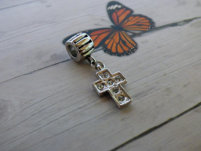 1x European Jewelry kraal ca. 31mm x 9.5mm  Gat: 4.5mm