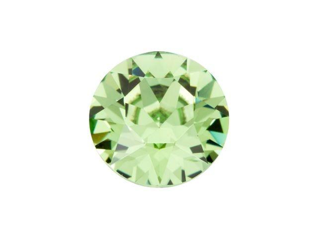 10 stuks Puntsteen Preciosa voor puntsteen 9924 c.a. 3mm Licht groen
