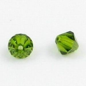 Per stuk Swarovski kristal bicone 8mm Olivine