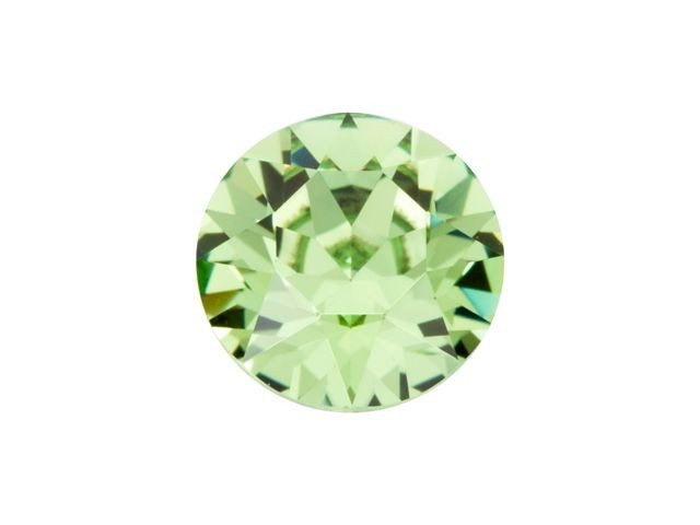 15 strass punt steentjes clear licht groen  SS16 4mm Back Plated, Diamond, Crystal