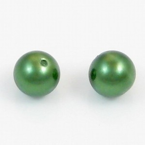 10 x glasparel groen 16mm
