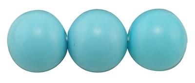 20 x prachtige glasparel kleur: DeepSkyBlue 12mm