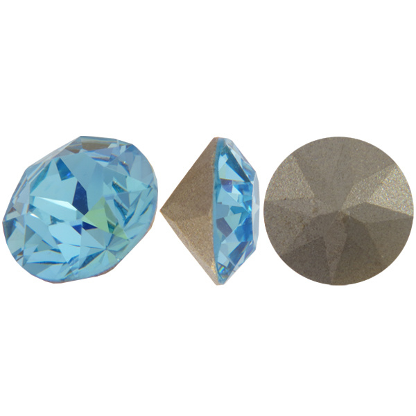 10 stuks Puntsteen Preciosa voor puntsteen 9924 c.a. 3mm Licht Blauw