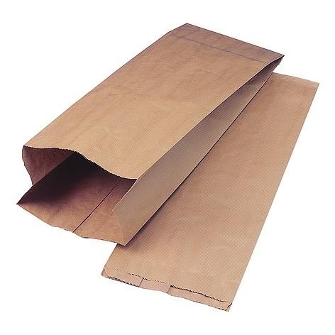 10 x  Papieren kraft zak 16x 30,5 cm  bruin nr. 2